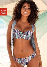 s.Oliver RED LABEL Beachwear beugelbikini in bandeaumodel met afneembare bandjes
