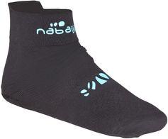 Nabaiji Sokken zwemsport volwassenen Aquasocks zwart