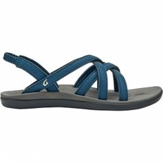 Olukai Kalapu Sandaal Junior Blauw