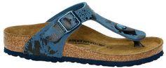 Birkenstock Gizeh teenslippers blauw