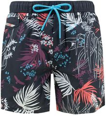 waykeeki water denim short flowers