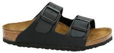 Birkenstock Arizona slippers zwart
