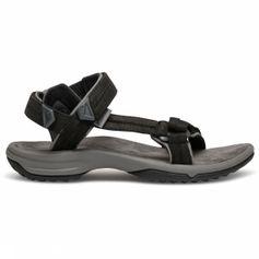 Teva Terra FI Lite Leather Sandaal Dames Zwart