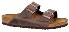 Birkenstock leren slippers