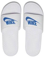 Nike Benassi JDI Benassi JDI badslippers wit/blauw