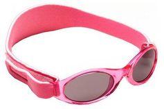KidzBanz Uni zonnebril roze