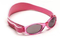 BabyBanz zonnebril Uni roze