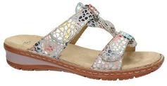 Ara comfort slippers zilver