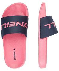O'Neill Logo Slides Sandals slippers roze/blauw