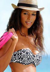 Lascana bandeau-bikinitop Grace in trendy design