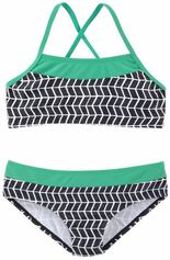 s.Oliver RED LABEL Beachwear bustierbikini in colourblockingstijl