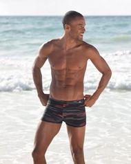 Zwemboxer van Kangaroos met trendy printdessin