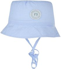 Döll -kinderzonnehoedje- blauw-UV 30 -maat 49 cm - maat 18 - 24 maanden