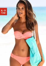 s.Oliver RED LABEL Beachwear beugelbikini in bandeaumodel