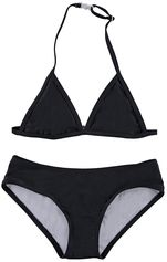 Just Beach zwarte triangle bikini Pear Black