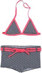 Zee & Zo halter meisjes bikini Poppy Cubic Black