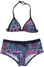 Brunotti gekleurde triangle bikini Pop Pink