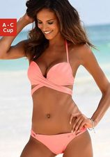 s.Oliver RED LABEL Beachwear push-upbikini met extra strikbandjes