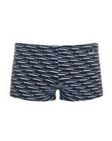 HOM Swell swim shorts Wit/Zwart