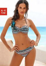 Lascana bandeau-bikinitop Marrakesh met trendy print