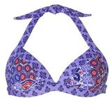 Baku Australia Mix & Match haltertop bikinitop all over print paars