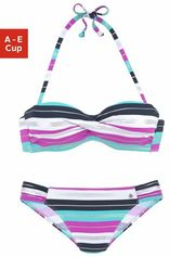 s.Oliver RED LABEL Beachwear beugelbikini in bandeaumodel (2-delig)
