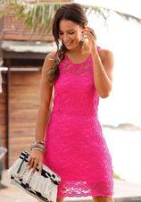 LASCANA kanten jurk