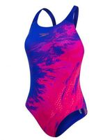 Speedo END Placement Powerback Roze/Paars