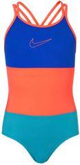 Nike sportbadpak met gekruiste bandjes neon roze