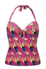 tankini top Paradise bird