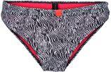 LingaDore, Dames Bikinibroek 'WILD LIFE', zwart / wit
