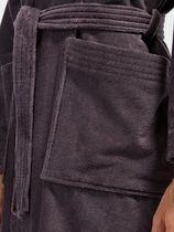 Tom Tailor wollen mantel »badjas met capuchon«