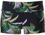 Seafolly zwemshort zwart/groen