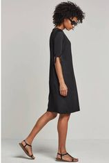 whkmp's beachwave jersey jurk zwart