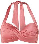 Seafolly Twist push-up halter bikinitop
