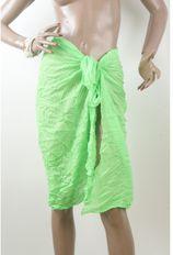 Crushed sarong in fel groen