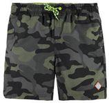 WE Fashion zwemshort met camouflage print