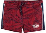 WE Fashion zwemshort met all over print rood