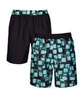 Zwemshort Maritim blauw/zwart