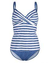 Tankini Olympia blauw/wit