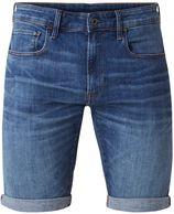 G-Star RAW Slim fit jeans shorts met omgeslagen boord