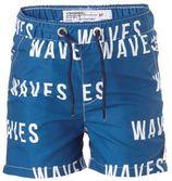Vingino zwemshort met printopdruk blauw