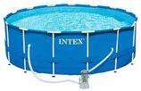Intex Frame zwembad Ø 457x122 cm met filterpomp