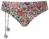 Beachlife bikinibroekje met all-over print rood
