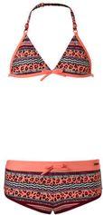 Protest triangel bikini met all-over print koraal