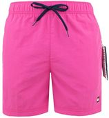 colored pocket zwemshort roze