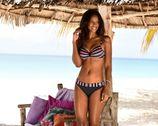 Lascana Bikinitop met beugels VOSS met contrastkleurig detail