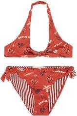 Scotch R'Belle Reversible triangel bikini met print