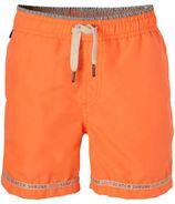 Scotch & Soda zwemshort met zakken neon oranje