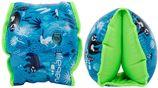 """Nabaiji Zwembandjes voor kinderen zachte binnenkant blauw print """"luiaard"""" 15 -30 kg"""
